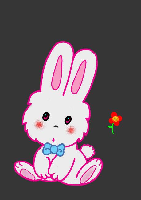 可爱动漫兔子图片