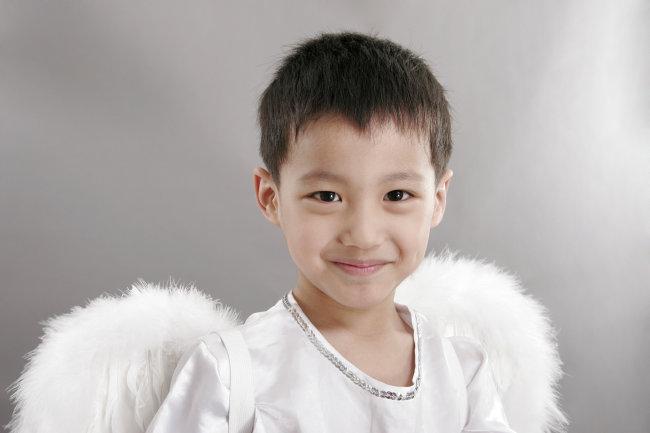 天使儿童图片