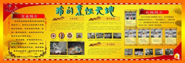校园文化展板(烹饪专业)