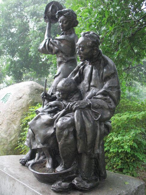 广州雕塑公园雕像 雕塑