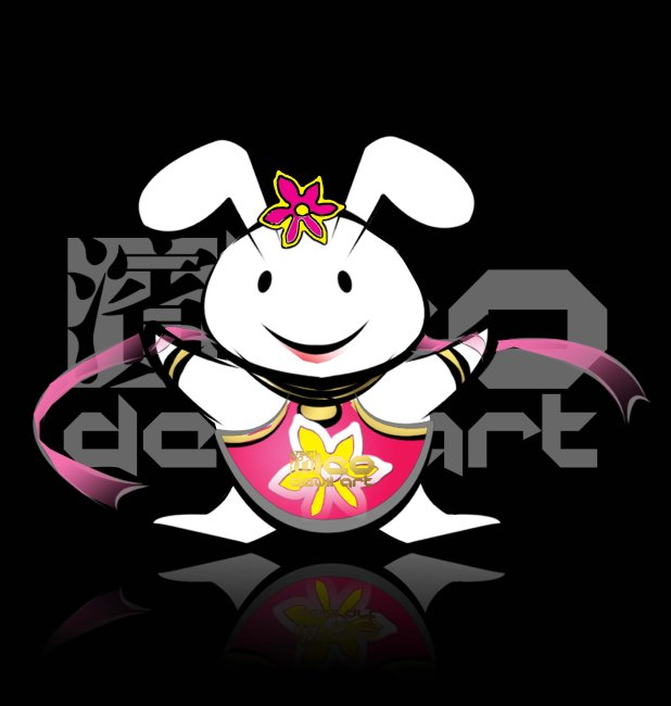 原创12生肖卡通形象设计 十二生肖兔