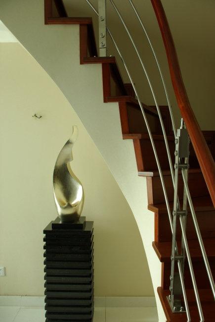 室内设计转角楼梯影图片