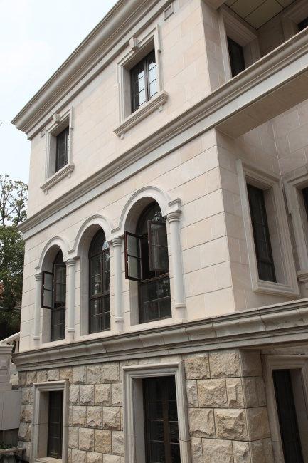三层欧式别墅摄影图片下载