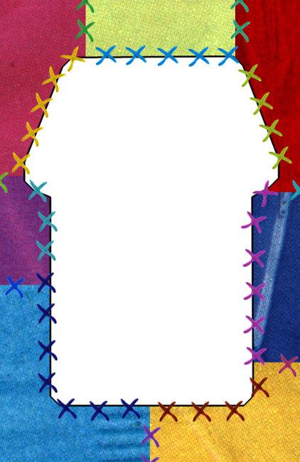 ppt 背景 背景图片 边框 模板 设计 相框 422_650 竖版 竖屏