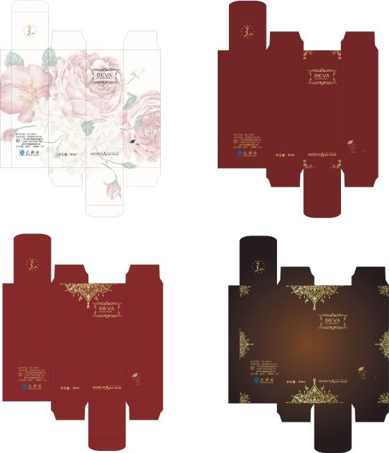 欧式等风格纸盒设计-礼品|包装|手提袋设计模板-其他