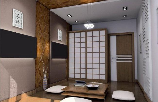 510 兆  室内设计 室内设计素材 日式客厅设计素材 3dsmax文件