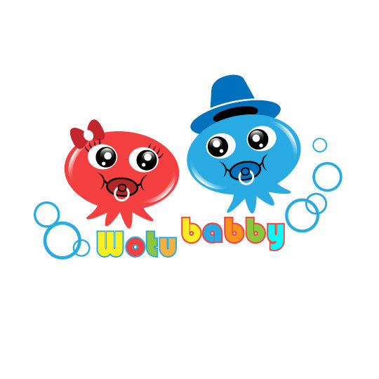 可爱章鱼logo