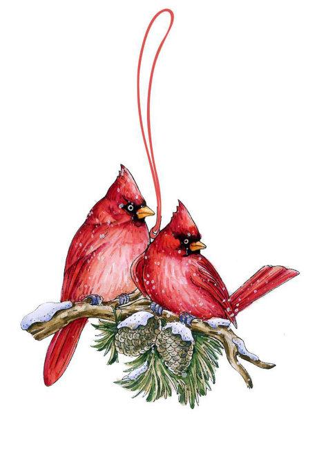 圣诞节手绘图