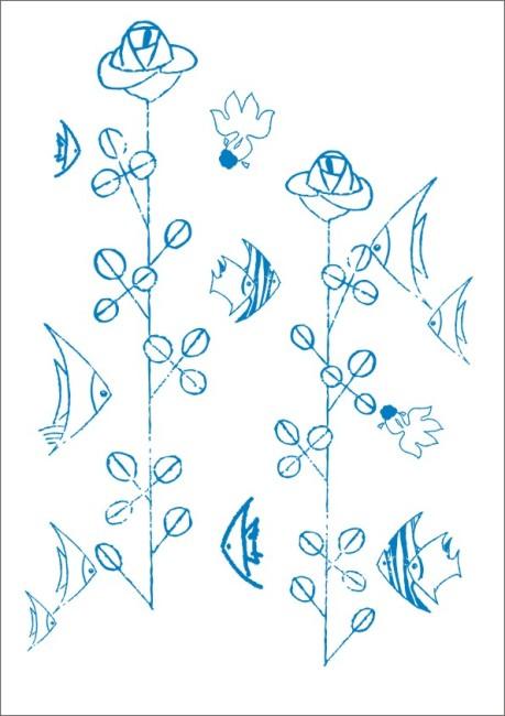 卡通金鱼简笔画图片_卡通简笔画金鱼图