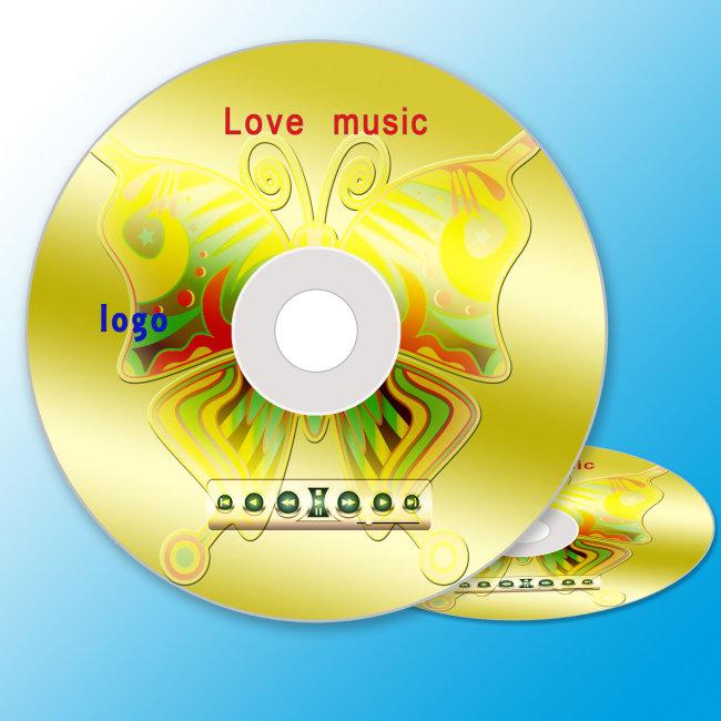 音乐光盘 光盘封面-礼品|包装|手提袋设计模板-其他