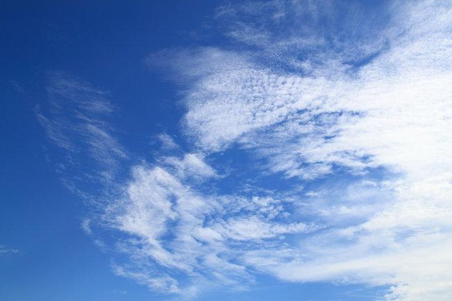 天空 蓝天 白云 天空素材