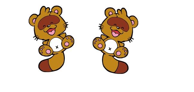 文件详细参数描述 格  式:cdr 图片名称:可爱卡通小熊