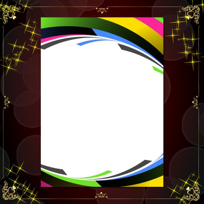 ppt 背景 背景图片 边框 模板 设计 矢量 矢量图 素材 相框 650_650