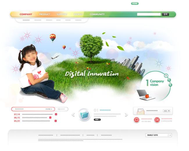 儿童摄影网站设计-其它-网页设计模板