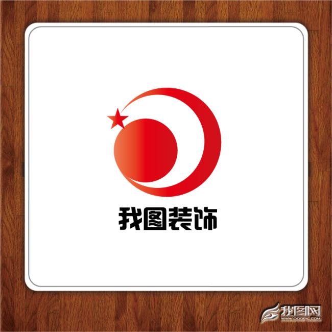 装饰公司标志设计模板下载 建筑装潢logo 标志logo设计 买