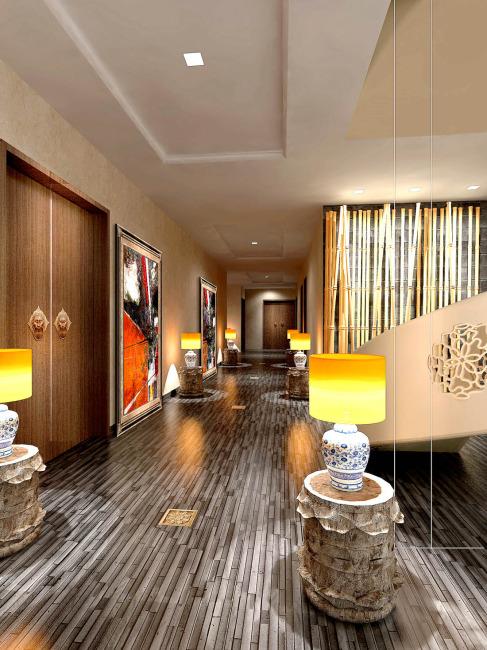 图片名称:走廊设计