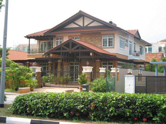 图片名称:新加坡别墅