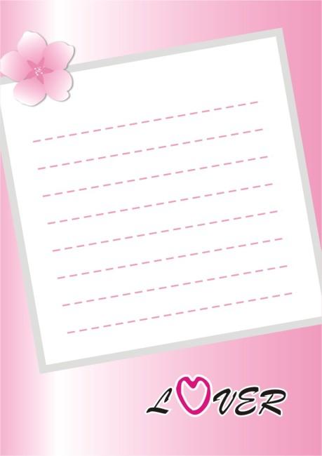 信纸模板-信封信纸模板-其它模板