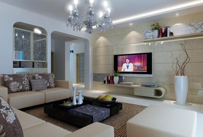 格  式:max 图片名称:现代客厅效果图   体积大小:14.图片