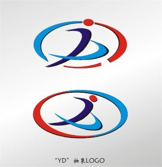 yd字母logo设计