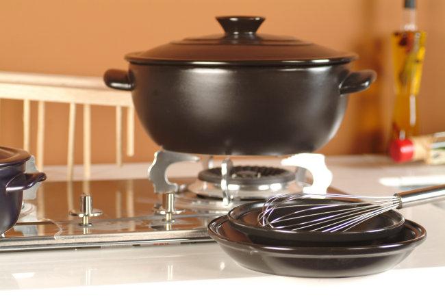 厨房 厨具餐具 陶瓷 特写