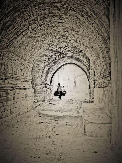 苏州古城墙简笔画展示