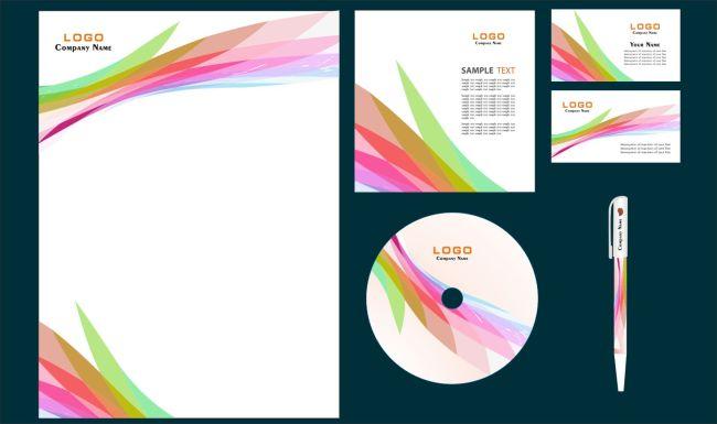 vi vi模板 vi设计模板vi手册