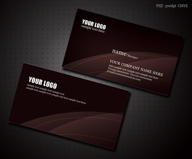 时尚名片设计模板-商业服务名片-名片模板|高档|二维