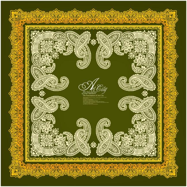 传统花纹 刺绣花纹 花边图案