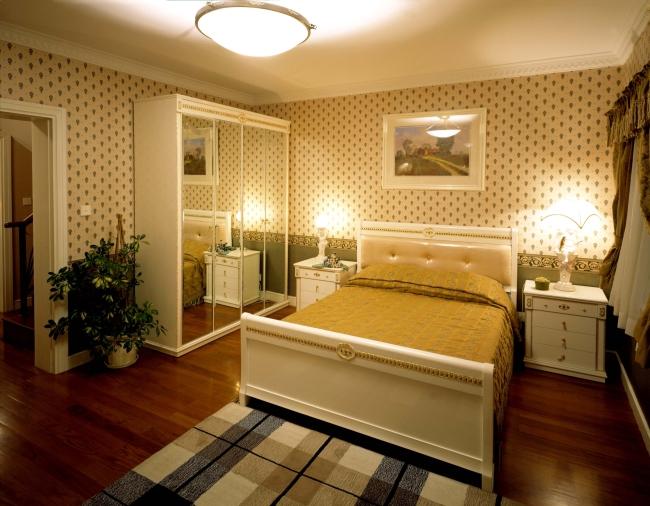 睡房室内装修图