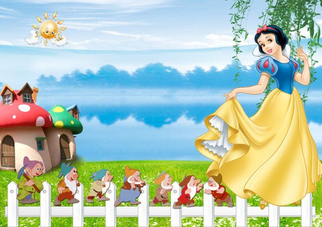 图片名称:白雪公主美丽童话儿童