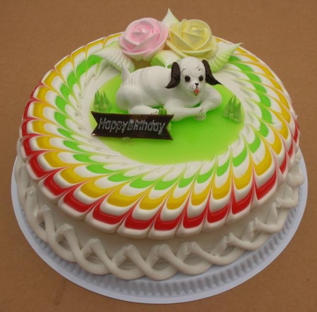 精美小动物蛋糕