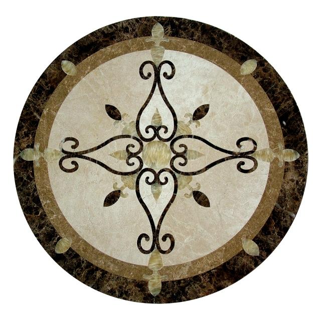 石材拼花 地板拼花图片