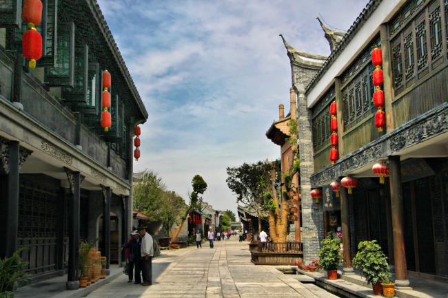 台儿庄古城 街景