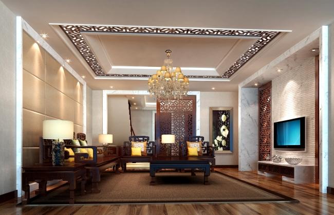 客厅设计方案效果图