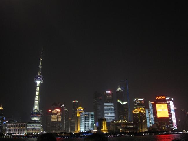 东方明珠 夜景