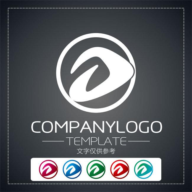 d字母logo设计欣赏cdr大图下载 0次