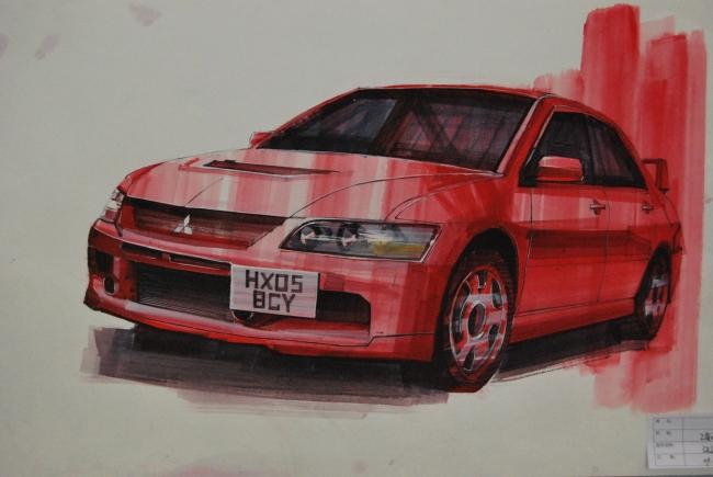 汽车 手绘 产品设计 工业造型