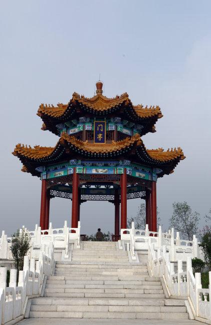 郊野公园 自然风光 北京 门头沟区 公共场所 旅游 休闲 建筑 中式建筑