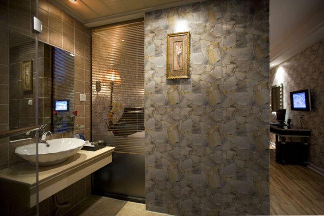 分层瓷砖铺贴效果图-室内设计-其他