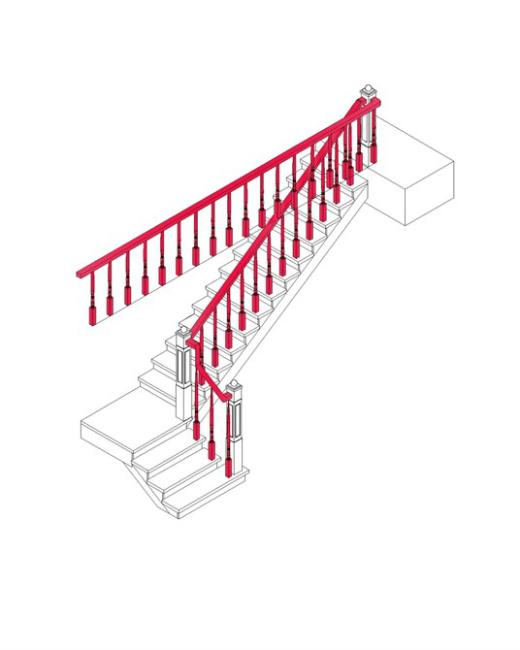 楼梯 三维图 cad图纸 室内装饰 无框 画 移门