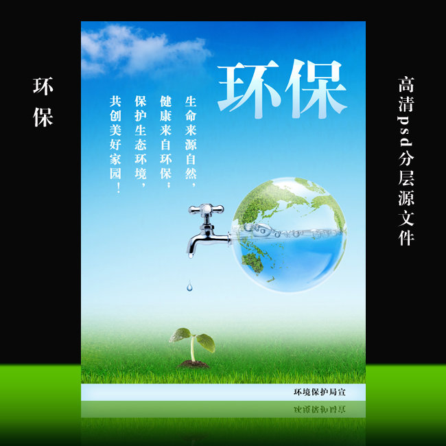 环保-环保宣传展板