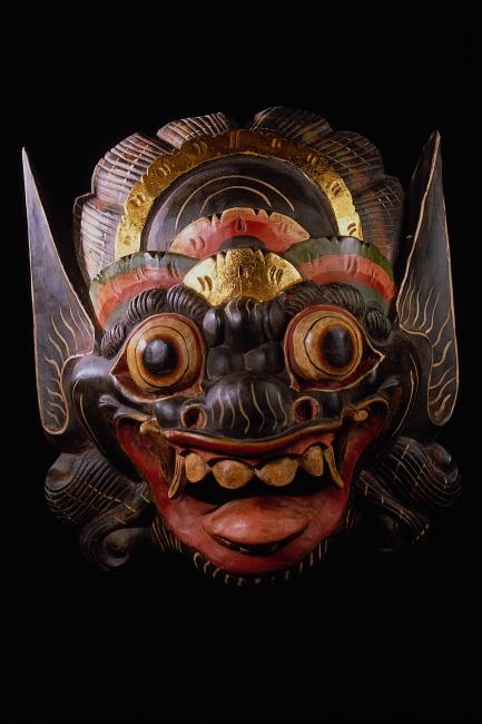 >木雕彩绘面具  文件详细参数描述