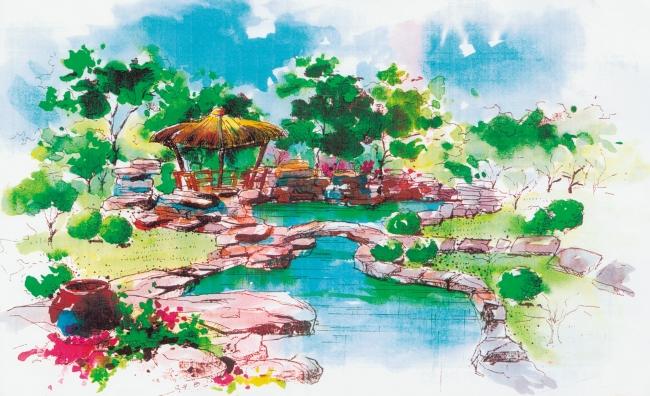 风景园林专业绘图