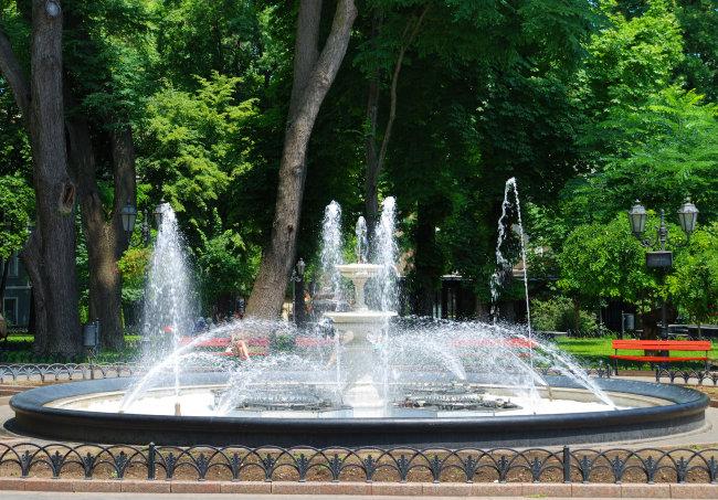 音乐喷泉景观高清图片