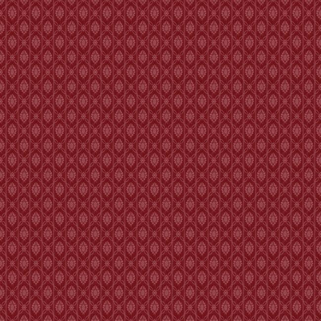 红色欧式花纹贴图