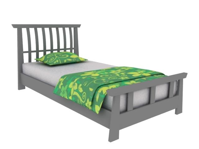 3d床模型-家居模型-3d模型下载|模型库|3d效果