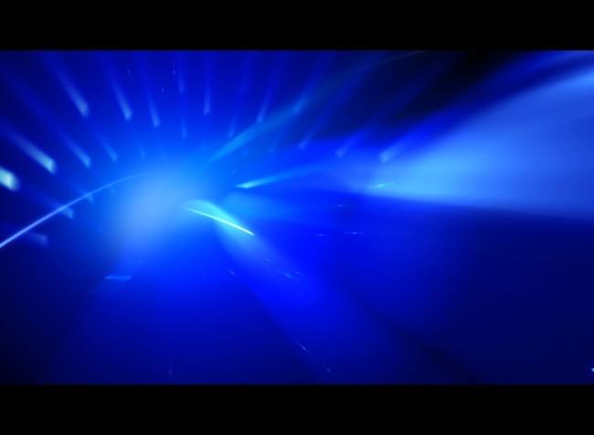 很酷的蓝色动态视频