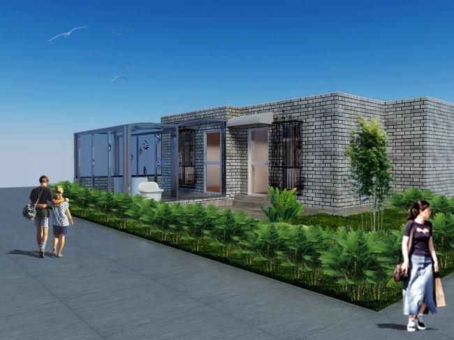 庭院设计(效果图 3d源 cad)