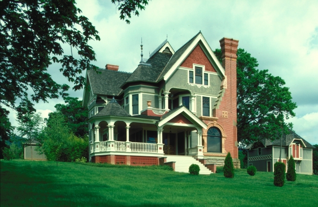 欧式建筑别墅外观设计